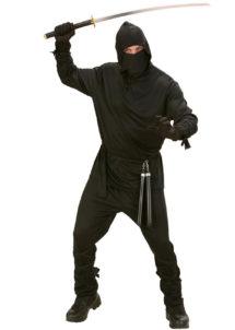 déguisement de ninja homme, déguisement de ninja adulte, costume de ninja, déguisement japonais homme, déguisement asie adulte, Déguisement Ninja