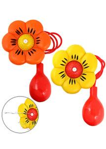 fleur lance eau, fleur de clown, accessoire clown déguisement, accessoire déguisement de clown, fleur lance eau en plastique, Fleur Lance Eau de Clown