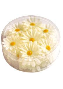 fleurs en tissu, fleurs tissu décorations, fleurs de décorations en tissu, Fleurs en Tissu, Fleurs Blanches