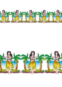 guirlande Hawaï, guirlande décorations hawaiiennes, guirlande décorations tropiques, guirlandes décorations jardins, Guirlande Hawaï, Tahitienne