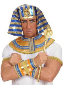 sceptre egyptien déguisement, sceptre de pharaon, accessoire pharaon déguisement, accessoire égyptien pharaon, sceptre serpent égypte déguisement, Sceptre Egyptien