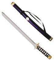 katana japonais, faux katana, arme en plastique, arme japonaise factice, faux katana, sabre japonais, arme de déguisement, sabre déguisement de ninja, faux sabre de ninja, faux katana de ninja japonais Katana Japonais, 60 cm