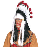 coiffe d'indien, plumes d'indien, accessoire déguisement indien, déguisement d'indien, coiffe d'indien à plumes, coiffure d'indien, coiffe de chef indien, coiffe déguisement Coiffe d'Indien, Raging Bull