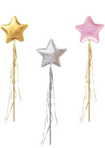 baguette magique, baguette de fée, baguette de princesse, Baguette Magique de Fée, Etoiles