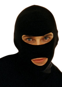 cagoule noire, cagoule déguisement, cagoule gign, Cagoule, GIGN, Bandit
