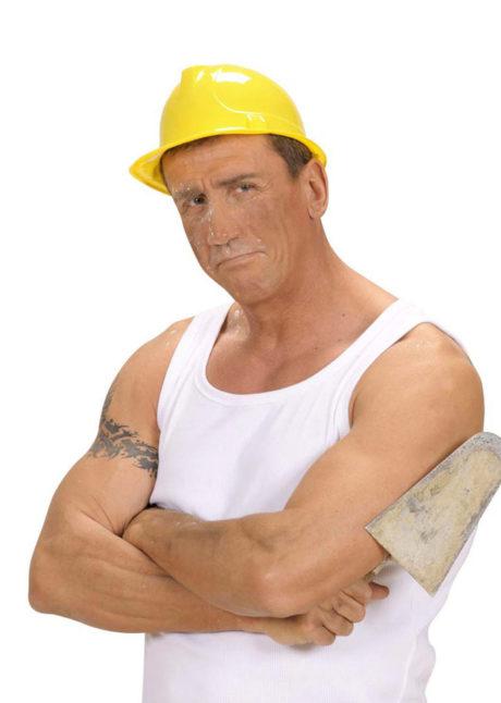 casque de chantier, casque de chantier en plastique, casque jaune de chantier, Casque de Chantier