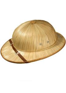 casque colonial, casque en paille, accessoires déguisement colonial, Casque Colonial