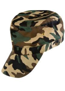 casquette militaire, accessoire militaire déguisement, déguisement militaire, casquette camouflage, casquette de militaire, Casquette Militaire Camouflage
