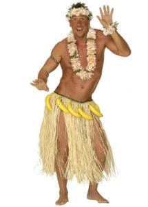ceinture de bananes, accessoire hawaï déguisement, ceinture bananes déguisement, déguisement hawaï, Ceinture de Bananes