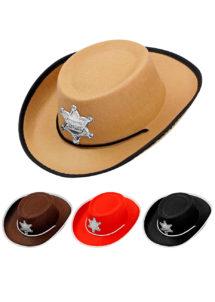 chapeau cow-boy enfant, chapeau cowboy garçon, Chapeau de Cowboy, Shérif Enfant