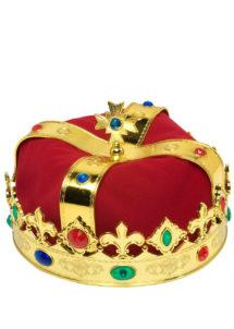couronne royale,couronne de roi, couronne de reine, accessoires déguisement de roi, accessoires déguisement de reine, couronne royale avec pierres, Couronne Royale