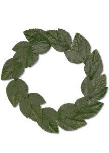 couronne de lauriers, couronne de lauriers romains, accessoire déguisement romains, accessoire déguisement jules césar, accessoire couronne de lauriers, Couronne de Lauriers Verts