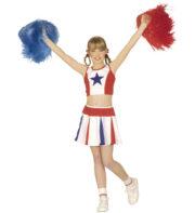 pompom girl enfant, déguisement fille, déguisements enfants, déguisement cheerleader fille Déguisement de Pom Pom Girl, Fille