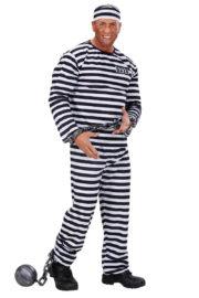 déguisement de prisonnier, déguisement bagnard homme, costume prisonnier adulte, déguisement prisonnier Déguisement Bagnard, Prisonnier