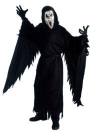 déguisement scream, déguisement halloween, déguisement halloween homme, costume halloween adulte, déguisement halloween adulte, déguisement scream Déguisement Screaming Ghost, Sanglant