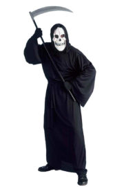 costume mort halloween, déguisement de faucheur, déguisement halloween homme, déguisement de la mort halloween, costume mort, costume halloween adulte, déguisement halloween homme, déguisement grim reapera Déguisement de Grim Reaper, Faucheur Masque Blanc