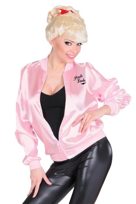 Grease Déguisement Blouson 60 De Qpfwh1a La Pink Aux Ladies Feux Années OTukXZPi