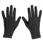 gants noirs, gants courts noirs, gants homme déguisement, accessoires gants déguisement, gants de déguisement, gants années 20 homme déguisement Gants Courts, Noirs