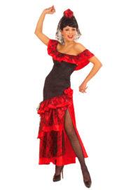 déguisement d'espagnole femme, déguisement danseuse espagnole, costume d'espagnole, costume danseuse flamenco, costume flamenco déguisement, déguisement flamenco femme Déguisement Espagnole, Robe Flamenco Senorita