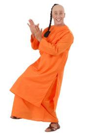 déguisement de moine bouddhiste, costume de bouddhiste Déguisement de Moine Bouddhiste
