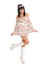 déguisement hippie, déguisement disco, robe disco, robe hippie Déguisement Disco Cutie, 70s