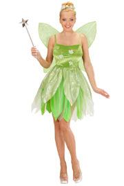 déguisement de fée clochette femme, costume de fée adulte, costume fée clochette femme, costume disney femme, déguisement fée clochette adulte Déguisement Fée de la Forêt