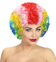 perruques paris, perruques femmes, perruques pas cherperruque de clown multicolore, Perruque de Clown Mixte, Multicolore