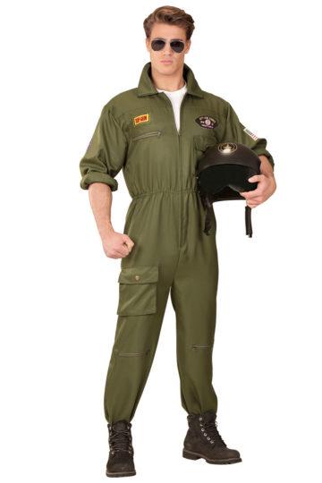 déguisement pilote de combat, costume pilote de combat, déguisement top gun, combinaison top gun déguisement, costume top gun homme Déguisement Aviateur, Pilote de Combat Top Gun