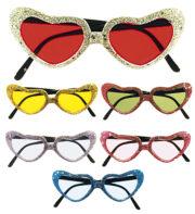 lunettes de déguisement, lunettes de fêtes, lunettes soirée déguisée, accessoires lunettes,lunettes fantaisie, lunettes pas chères, lunettes en forme de coeur, lunettes coeurs Lunettes Coeurs Paillettes