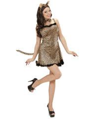 déguisement de léopard adulte, déguisement de léoparde, déguisement d'animal femme, costume léoparde femme, costume léoparde adulte, déguisement léopard adulte femme Déguisement de Léoparde, Robe et Oreilles
