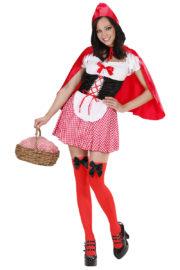 déguisement de chaperon rouge, costume chaperon rouge adulte, déguisement chaperon rouge femme, costume chaperon rouge femme, déguisement héros d'enfance Déguisement Chaperon Rouge, Red Caplet