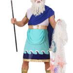 déguisement poseidon, déguisement dieu grec adulte, costume dieu grec, costume zeus adulte, déguisement zeus adulte, déguisement grec homme Déguisement Dieu Grec, Poséidon