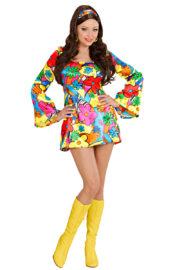 déguisement hippie femme, costume hippie femme, déguisement flower power femme, costume flower power femme, costume années 70 femme, déguisement années 70 femme, déguisement peace and love femme, costume femme hippie Déguisement Hippie Flower Power, 70s