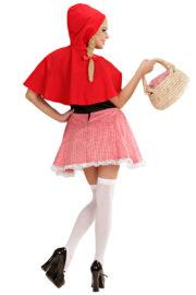 déguisement de chaperon rouge, costume chaperon rouge adulte, déguisement chaperon rouge femme, costume chaperon rouge femme, déguisement héros d'enfance Déguisement Chaperon Rouge