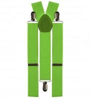 bretelles déguisement, bretelles homme, bretelles femmes, bretelles clowns, bretelles vertes Bretelles Vertes, Elastiques, Réglables