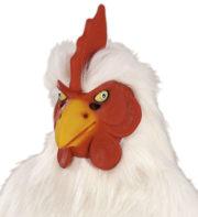 masque coq, masque de déguisement, masque animaux, accessoire déguisement animaux, masque d'animal déguisement, masques d'animaux déguisement, se déguiser en animal Masque de Coq, Latex et Fausse Fourrure