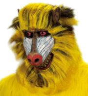 masque de babouin, masque de singe, masque d'animal, masques d'animaux, déguisement de singe Masque de Babouin, Latex