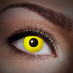 lentilles UV, lentilles jaunes, lentilles halloween, lentilles fantaisie, lentilles déguisement, lentilles déguisement halloween, lentilles de couleur, lentilles fete, lentilles de contact déguisement, lentilles fluos Lentilles Fluos, Jaunes