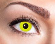 lentilles jaunes, lentilles halloween, lentilles fantaisie, lentilles déguisement, lentilles déguisement halloween, lentilles de couleur, lentilles fete, lentilles de contact déguisement, lentilles jaunes Lentilles Jaunes, Yellow Crow