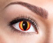 lentilles dragon eye, lentilles rouges et jaunes, lentilles halloween, lentilles fantaisie, lentilles déguisement, lentilles déguisement halloween, lentilles de couleur, lentilles fete, lentilles de contact déguisement, lentilles oeil de chat Lentilles Oeil de Chat, Dragon Eye