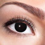 lentilles noires, lentilles halloween, lentilles fantaisie, lentilles déguisement, lentilles déguisement halloween, lentilles de couleur, lentilles fete, lentilles de contact déguisement, lentilles de sorcière Lentilles Noires, Black Witch