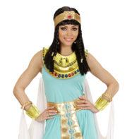 collier cleopatre, accessoire cléopatre déguisement, accessoire déguisement, déguisement de cléopatre, accessoire égypte déguisement, accessoire cléopatre, accessoire égyptienne déguisement Col et Bracelets de Cléopatre