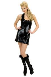 déguisement disco femme, robe disco déguisement, costume disco femme, costume disco adulte, déguisement disco années 80 Déguisement Disco Queen, Robe Noire