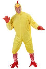 déguisement de poulet, déguisement poulet homme, déguisement animal homme, déguisement adulte animaux, costume de poulet Déguisement de Poulet, Combinaison avec Chaussettes