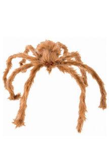 araignée géante, fausse araignée halloween, araignée géante fausse fourrure, araignée d'halloween, Araignée Géante, Fausse Fourrure, 80 cm