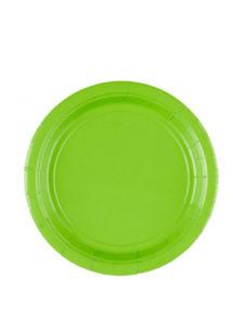assiettes en carton, vaisselle jetable, vaisselle pour anniversaire, assiettes pour anniversaire paris, Vaisselle Vert Pomme, Assiettes