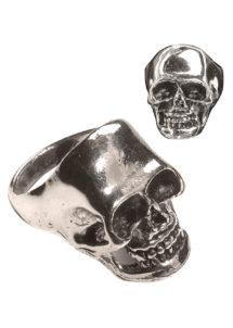 bague tête de mort, bague de pirate, bijoux halloween, Bague Tête de Mort