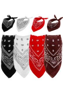 bandana cowboy, bandana de cowboy, foulard de cowboy, accessoires cowboys, soirée western, bandana rouge, Bandana de Cowboy