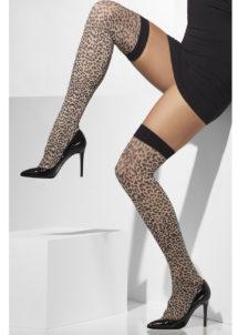 bas léopard, bas déguisement, collants déguisement, accessoire léopard, accessoire sexy, collants léopard, accessoires léopard sexy, Bas Léopard