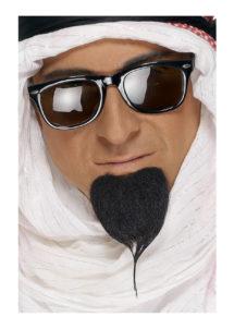 fausse barbe, fausses moustaches, postiche, barbe postiche, fausse barbe réaliste, fausse barbe de déguisement, bouc, Bouc Noir